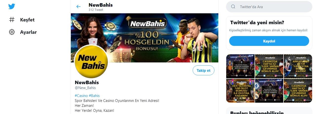 Newbahis Twitter